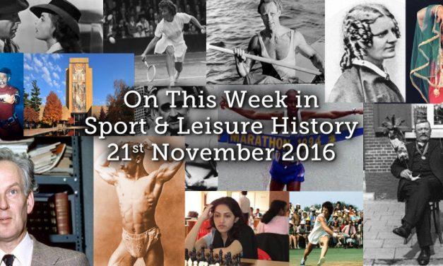 On This Week – 21st November 2016