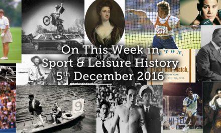 On This Week – 5th December 2016