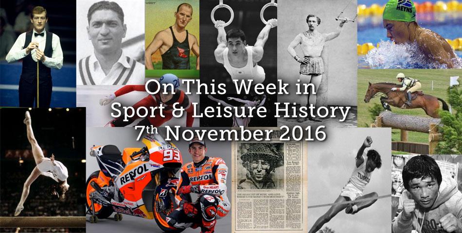 On This Week – 7th November 2016