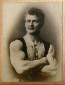 Eugen Sandow in his youth