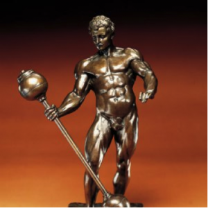 Sandow's 1901 Bronze Trophy