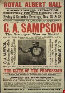 Sandow Sampson and Stardom