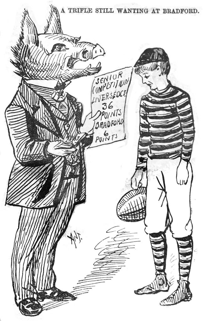 Bradford Cartoon 8th June 1893