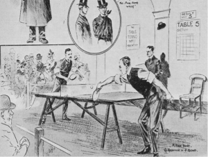 Early Table Tennis