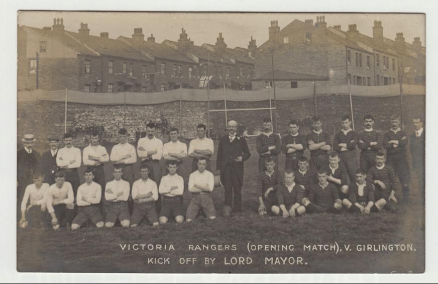 Victoria Rangers v Girlington – 10th June 1906