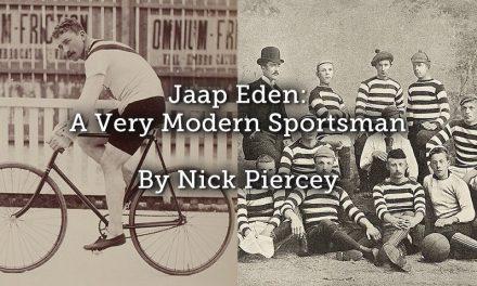 Jaap Eden: A Very Modern Sportsman