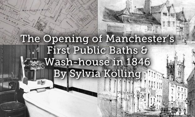 The Opening of Manchester's First Public Baths and Wash-house in 1846