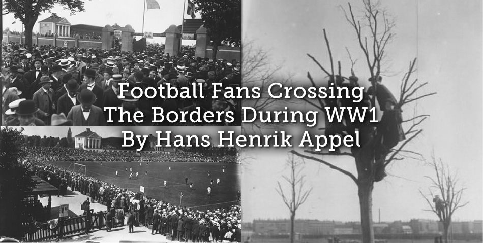 Football Fans Crossing The Borders During WW1