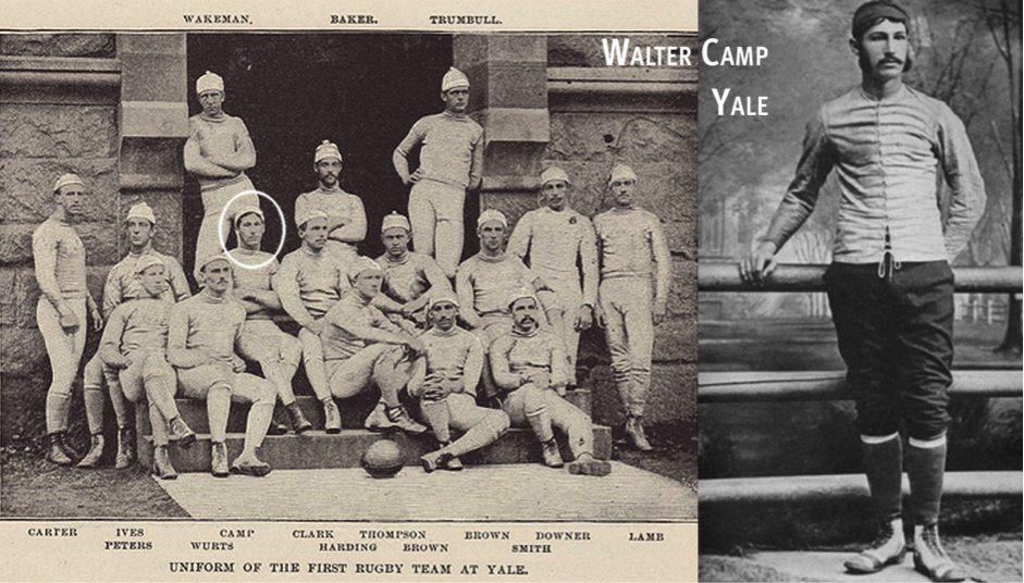 Walter Camp and the Yale Rugby Team