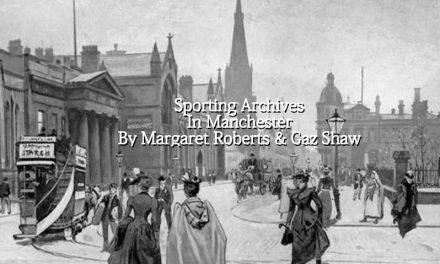 Sporting Archives in Manchester by Margaret Roberts & Gaz Shaw