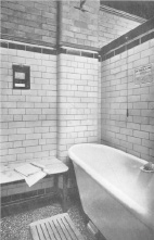 Slipper Bath at Birmingham, Circa 1912