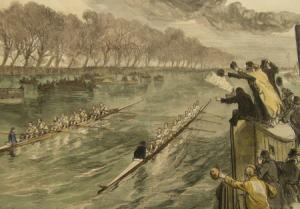 University Boat Race dead heat