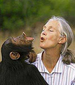 Dame Jane Goodhall