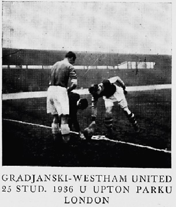 Gradjanski v West Ham United