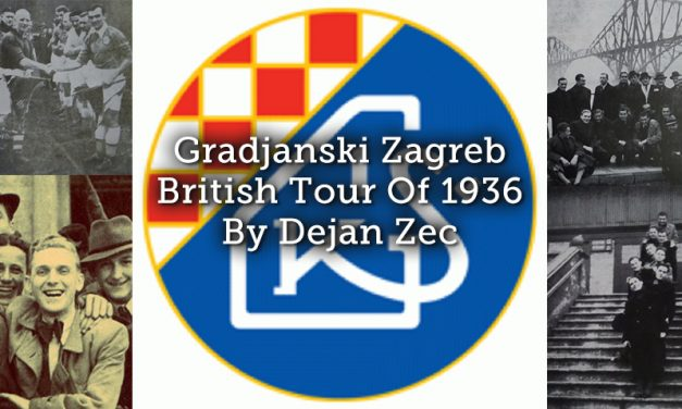 Gradjanski Zagreb British Tour Of 1936