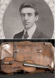 Wallace Henry Hartley & his Violin