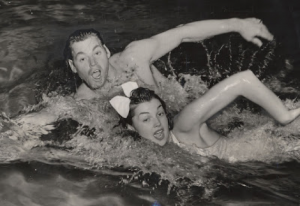 Johnny Weissmuller & Esther Williams, Aquacade, GGIE, Sept. 27, 1940 sfhcbasc.blogspot.co.uk:2013:06:it-came-from-photo-morgue-esther.html