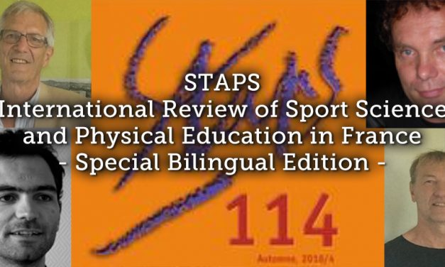 STAPS International Review of Sport Science and Physical Education in France – Special Bilingual Edition –