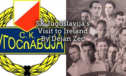 SK Jugoslavija's visit to Ireland