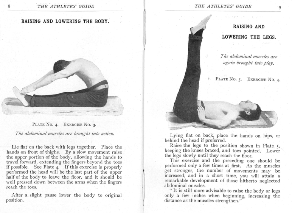 G.S. Greene and P.A. Marrinan, The Athletes' Guide to Health & Physical Fitness (Dublin, 1908), 8-9