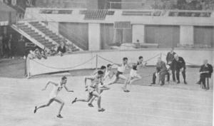 Men's 70yds sprint