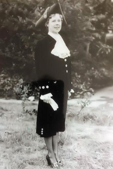 Mollie as High Sheriff 1961