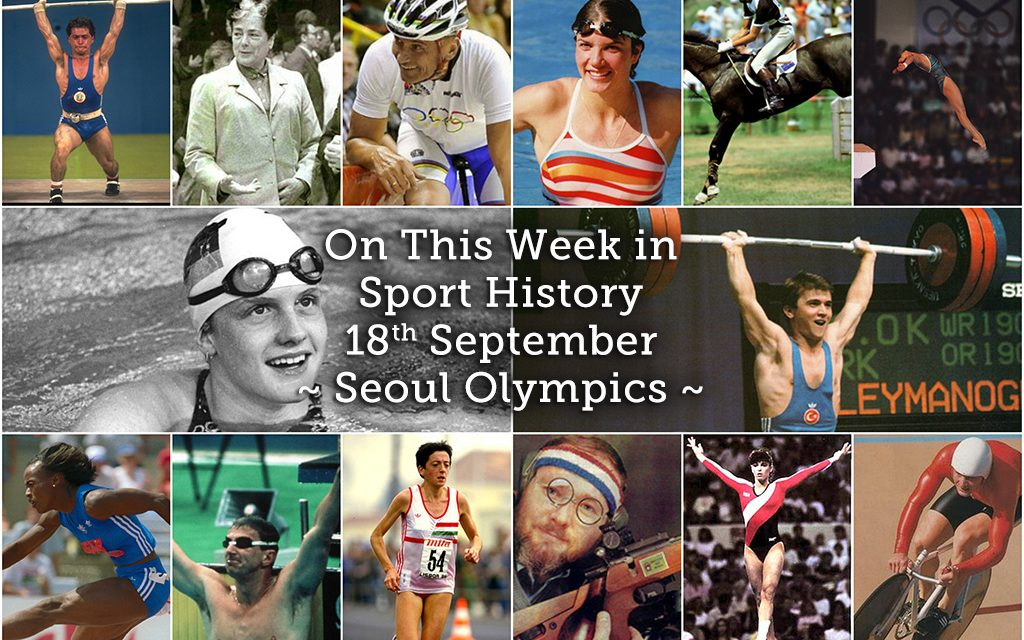 On This Week in Sport History – Seoul Olympics 1988