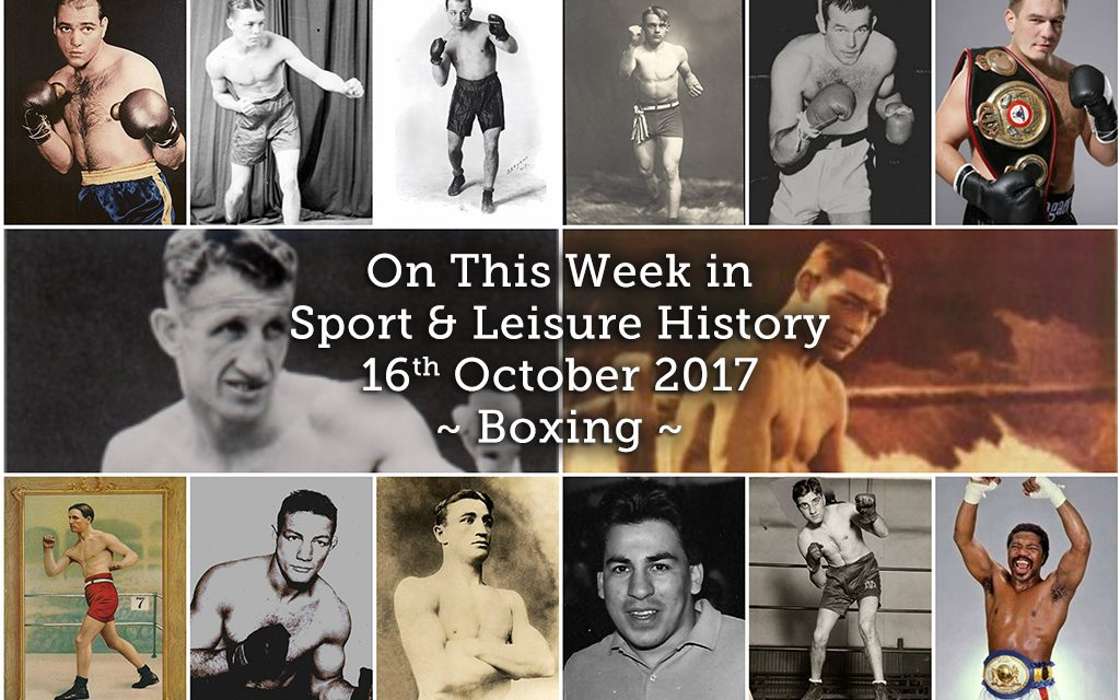 On This Week in Sport History – Boxing