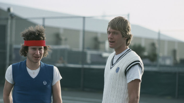 McEnroe & Peter Flemming
