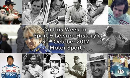 On this Week in Sport History – Motor Sport
