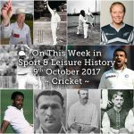 On this Week in Sport History – Cricket
