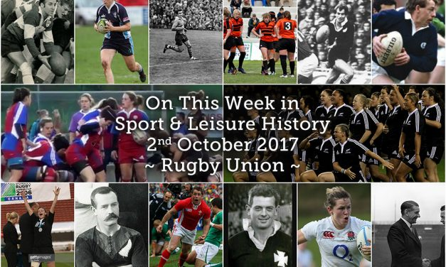 On this week in Sport History – Rugby Union