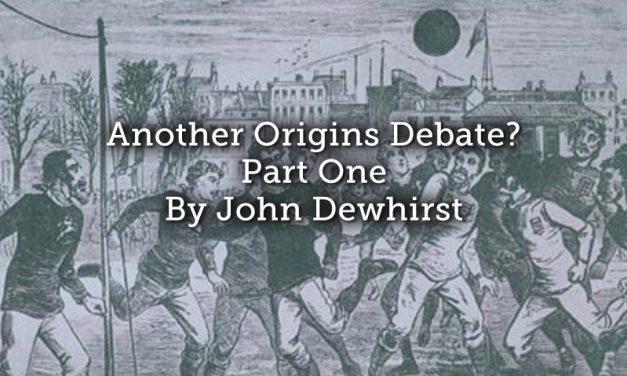 Another Origins Debate? Part One