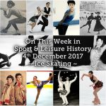 On This Week in Sport History ~ Ice Skating