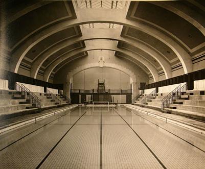 Baths interior