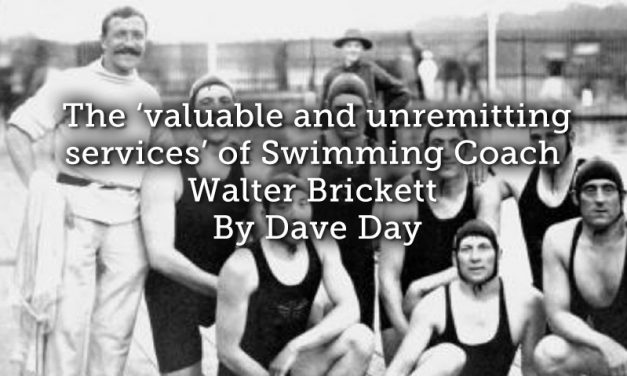 The 'valuable and unremitting services' of Swimming Coach Walter Brickett