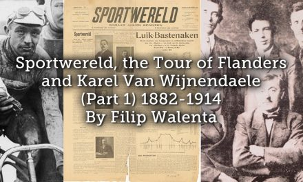Sportwereld, the Tour of Flanders and Karel Van Wijnendaele (Part 1)  1882-1914