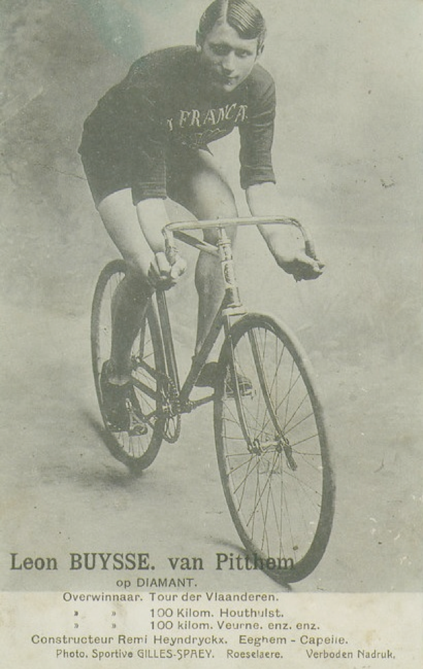 Leon Buysse, winner of the Tour of Flanders 1915