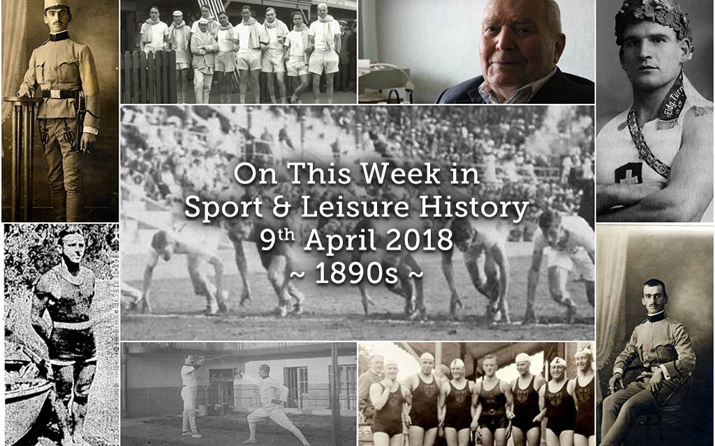 On this Week in Sport and Leisure History ~ 1890s