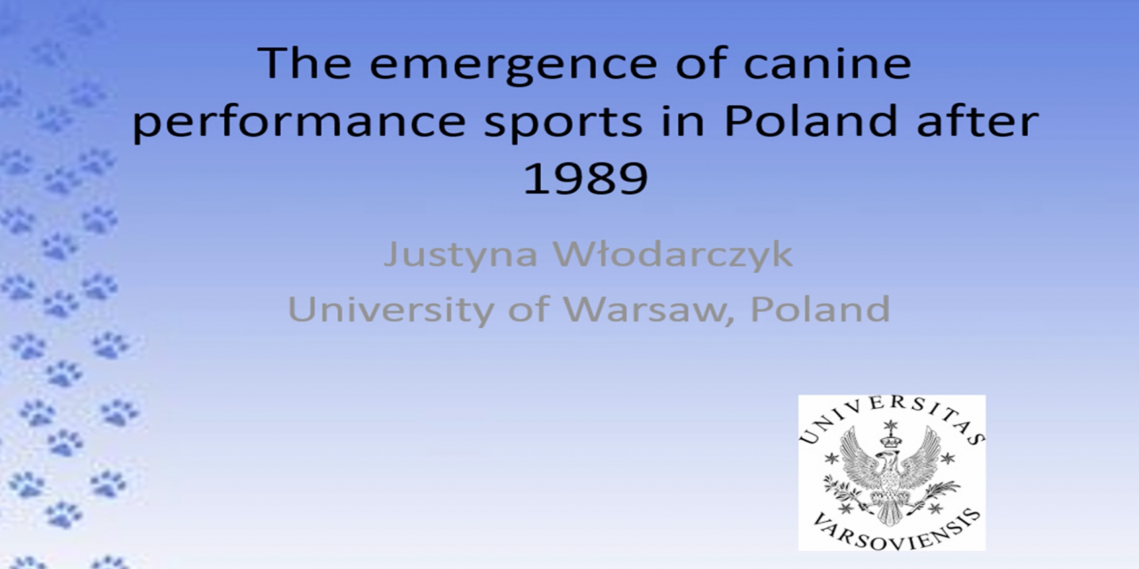 The Emergence of Canine Performance Sports in Poland after 1989