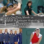 On This Week in Sport History ~Tennis