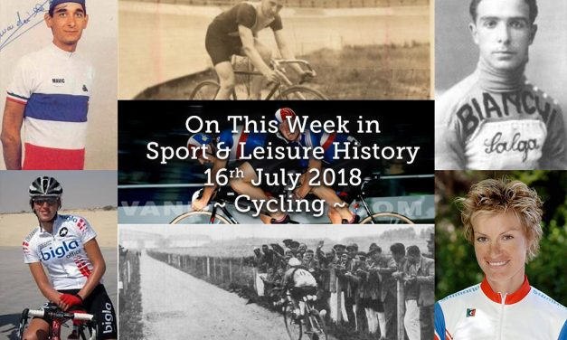 On This Week in Sport History ~ Cycling