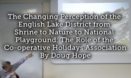 The Changing Perception of the English Lake District from Shrine to Nature to National Playground: The Role of the Co-operative Holidays Association