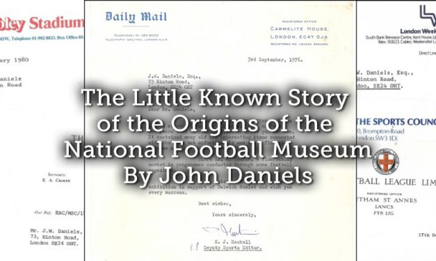The Little Known Story of the Origins of the National Football Museum
