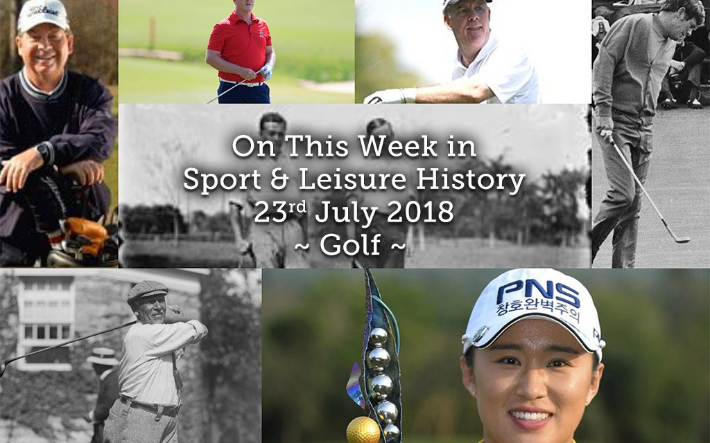 On This Week in Sport History ~ Golf
