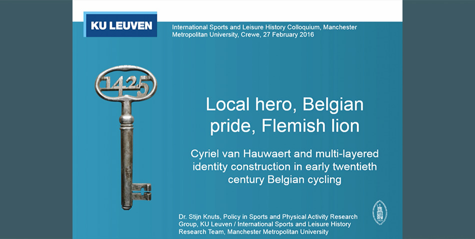 Belgian Pride, Flemish Lion, Local Hero: Cyriel van Hauwaert and Identity Construction in Cycling