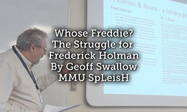 Whose Freddie? The Struggle for Frederick Holman