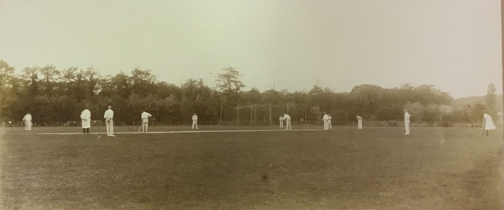 A Netherland's XI v Marylebone Cricket Club, The Hague, August 1902. Source- Nationaal Archief, Den Haag, 2.19.125 KNCB Archive, Document Folder 1085