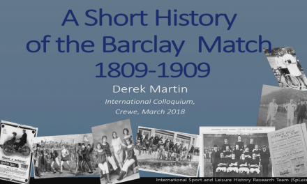 A Short History of the Barclay Match: 1809‐1909