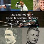 On This Week in Sport History ~ Modern Pentathlon ~